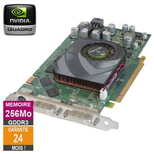 CARTE GRAPHIQUE INTERNE Carte graphique Nvidia Quadro FX 3450 256Mo GDDR3