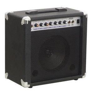 AMPLIFICATEUR Amplificateur Guitare 10W Soundlab Noir avec Réver
