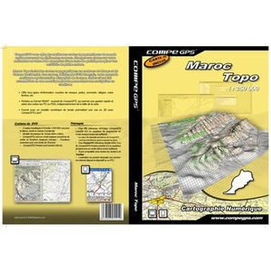 GPS AUTO TWONAV Carte Maroc & Sahara Occidental sur DVD