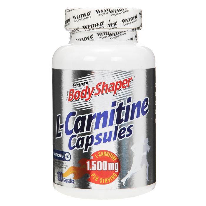 WEIDER Sachet de L-Carnitine Gélules 100 x 500mg