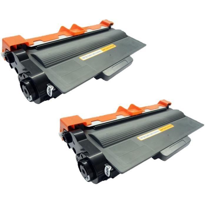 2-Pack TN-3480 Toner Laser compatible pour Brother...