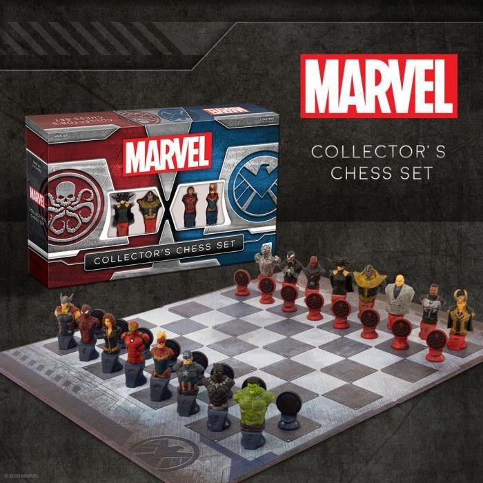 Jeu d'échecs Marvel [Edition Collector]