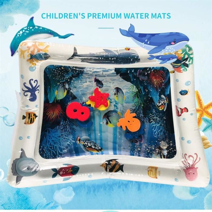 Baby Inflatable Water Mat Sea Life Mat Ice Pad Prone Baby Inflatable Mat Extérieur204