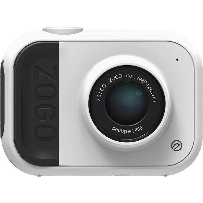 Appareil Photo 8MP et caméra d'action pour Enfants (Blanc)
