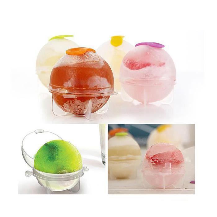 Moules de sphère de fabricant de boule de glaçon rond pour cocktails de fête de whisky ensemble de 4 cadeaux CNN70421434B_baet
