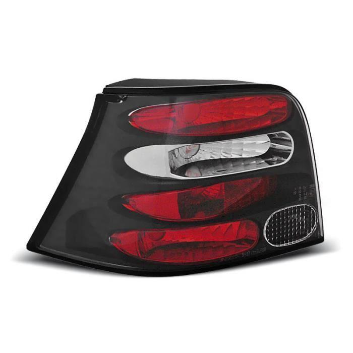 Paire de feux arriere VW Golf 4 97-03 noir W50