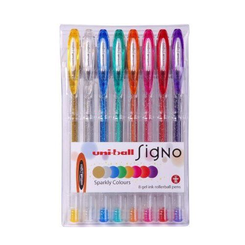 Uni-ball Signo Sparkling Stylo roller à encre g…