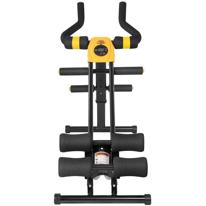 APPAREIL ABDO Appareil &agrave Abdominaux - 11 in 1 Roller Abdominal Trainer,&Eacutequipement de Fitness &agrave Domicile337