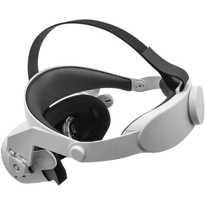 xiaowang Casque Oculus Quest 2, Lunettes VR, Accessoires pour Lunettes VR, Lunettes à Crochet Doreille, Casque de Réalité Virtue243