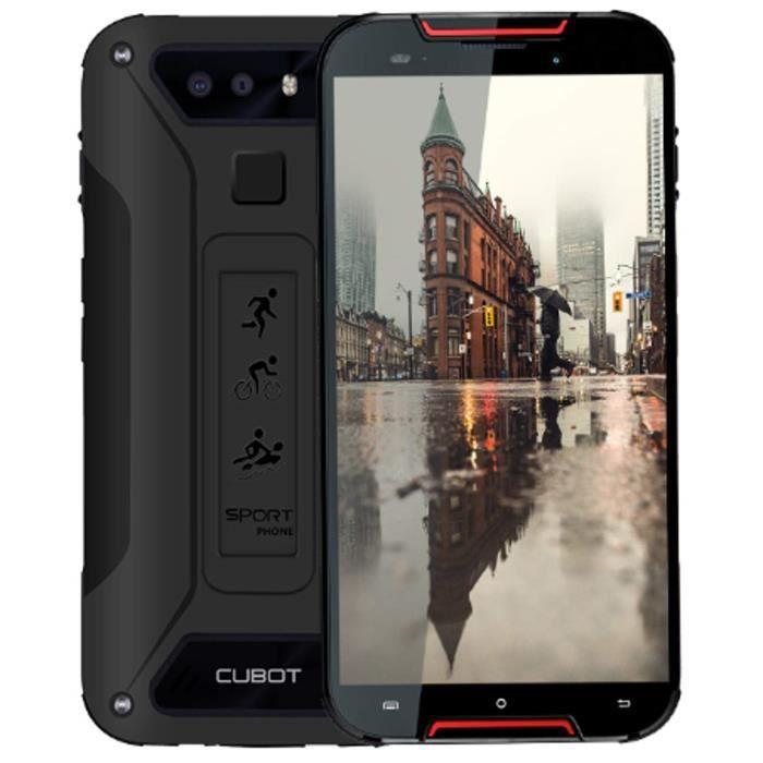 Cubot Quest Lite 4G 32GB 3GB RAM Dual-SIM Red-Black EU
