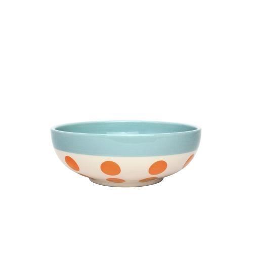 Bol céréales reverso 16,5 cm orange et bleu glacier - Déjeuner Sur L'herbe Orange
