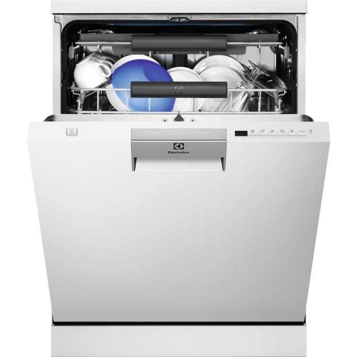 Lave-vaisselle pose libre ELECTROLUX ESF8650ROW - 15 couverts - L60cm - 44dB - Blanc