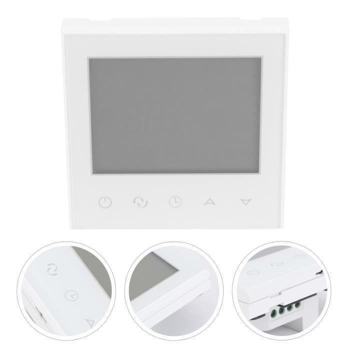 Thermostat WiFi Programmable Numérique Tactile Sans Fil thermostat d'ambiance genie thermique - climatique - chauffage
