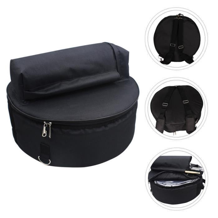 Sac de rangement 1PC sac à dos à confortable de tambour aspirateur traineau entretien des sols - entretien de la maison