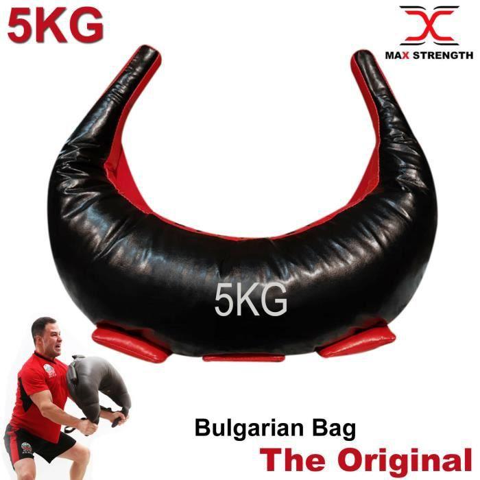 Max Strength La formation de sac lesté bulgare gère le crossfit d'haltérophilie de gym