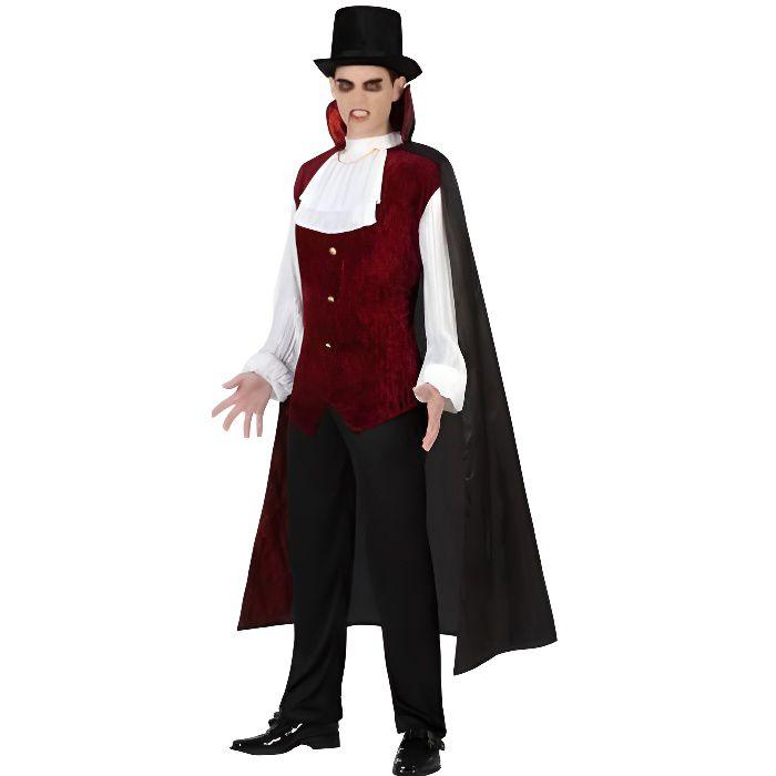 Déguisement Homme VAMPIRE Luxe Halloween
