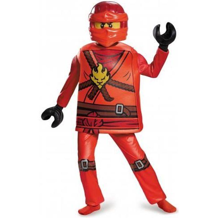Déguisement deluxe Kai Ninjago®- LEGO® enfant
