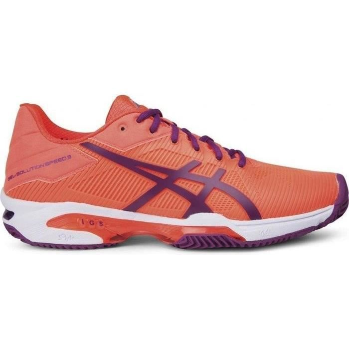 ASICS chaussures de tennis Speed 3 Clay dames orange taille 35,5