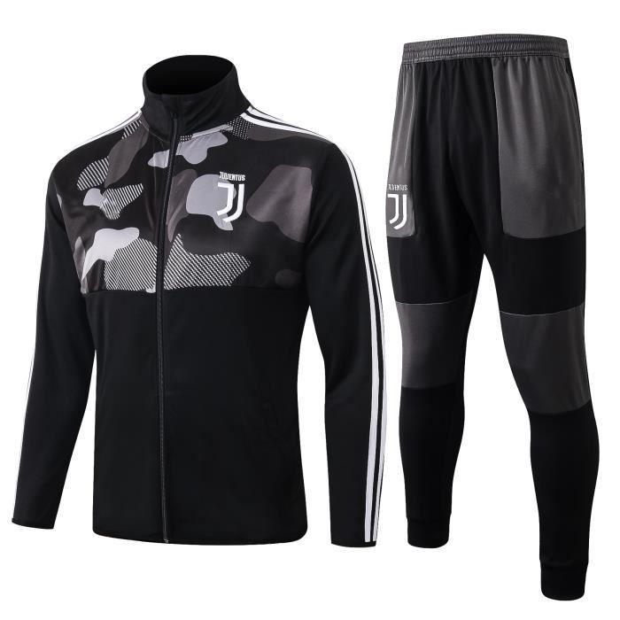 Nouveau Veste à Manches Longues Juventus Survêtement 2020 2021 Survet Pas Cher Survêtement Training pour Homme