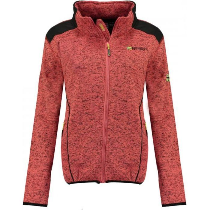 Veste softshell Corail Femme Geographical Norway Tourbillone