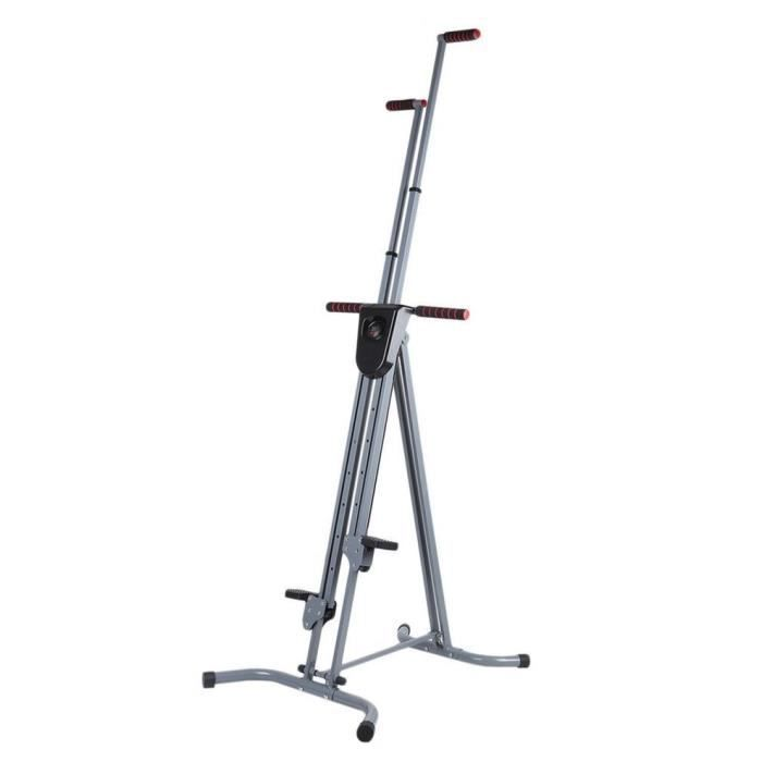 OUTAD® STEPPER - CLIMBER Machine d'Escalade Verticale Pliable LCD Grimpeur Vertical Fitness antidérapant