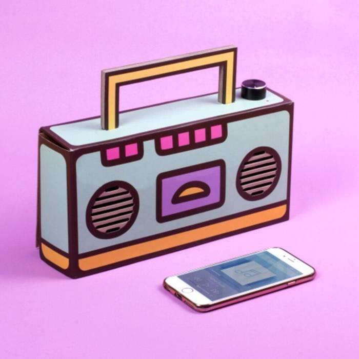 Pusheen Construisez votre propre enceinte Boombox sans fil