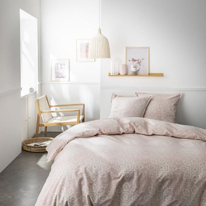 Housse de couette réversible et taie d'oreiller Today 100% coton 4.43 - taille:240 x 260 cm