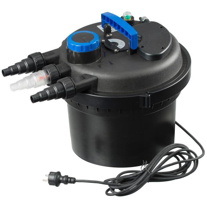 Ubbink Filtre d'étang BioPressure 3000 PlusSet 5 W 1355415