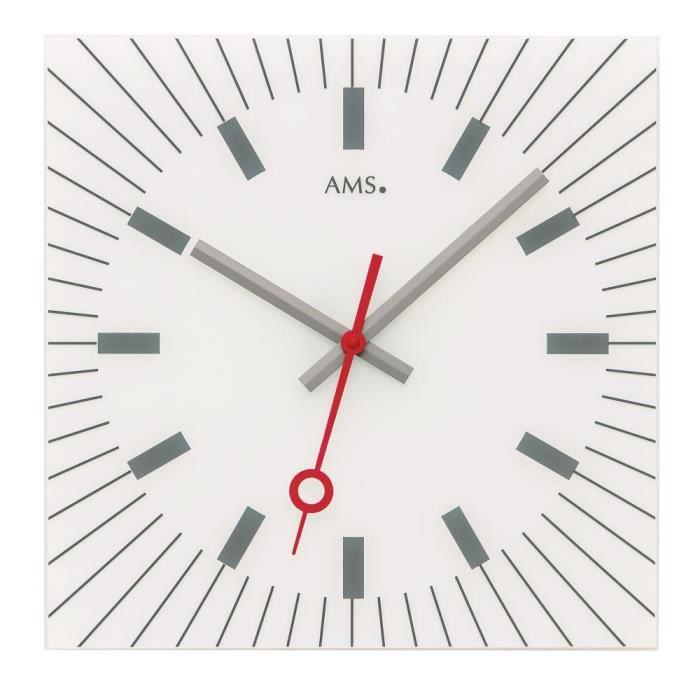 MONTRE AMS - 9576 - pendule murale - Quartz - Analogue