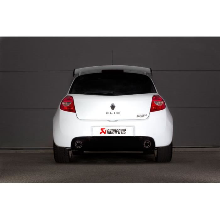 ligne inox akrapovic renault clio 3 rs achat vente pot d 39 echappement ligne inox akrapovic. Black Bedroom Furniture Sets. Home Design Ideas