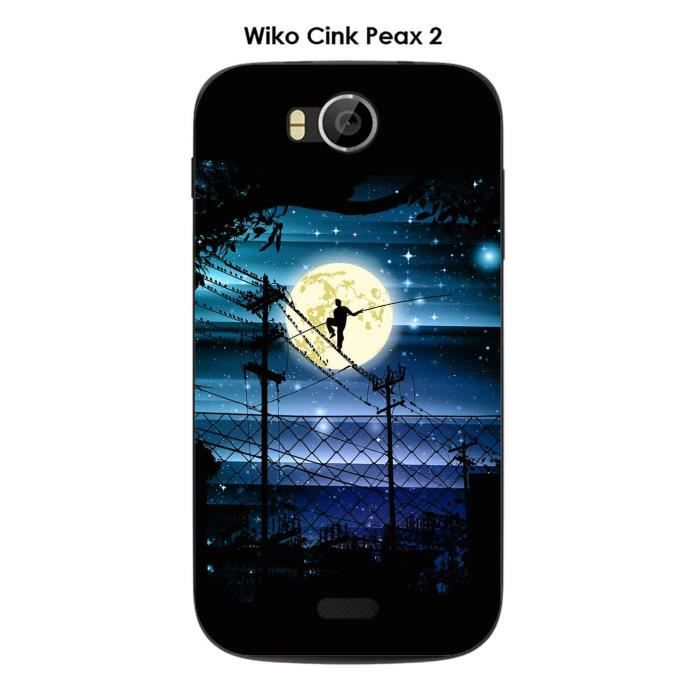 Coque Wiko Cink Peax 2 design Funambule