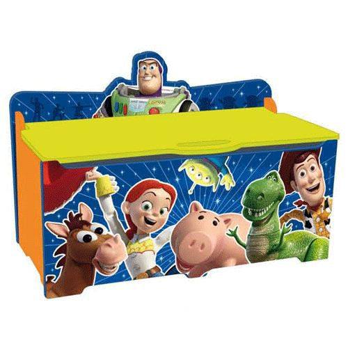 coffre jouets toy story achat vente coffre jouets. Black Bedroom Furniture Sets. Home Design Ideas
