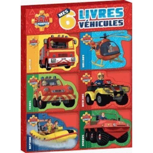 LIVRE 0-3 ANS ÉVEIL Livre - SAM LE POMPIER ; coffret 6 véhicules