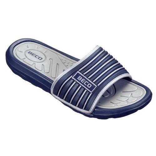 CLÉ USB Beco chaussons de bain marine / gris homme taille