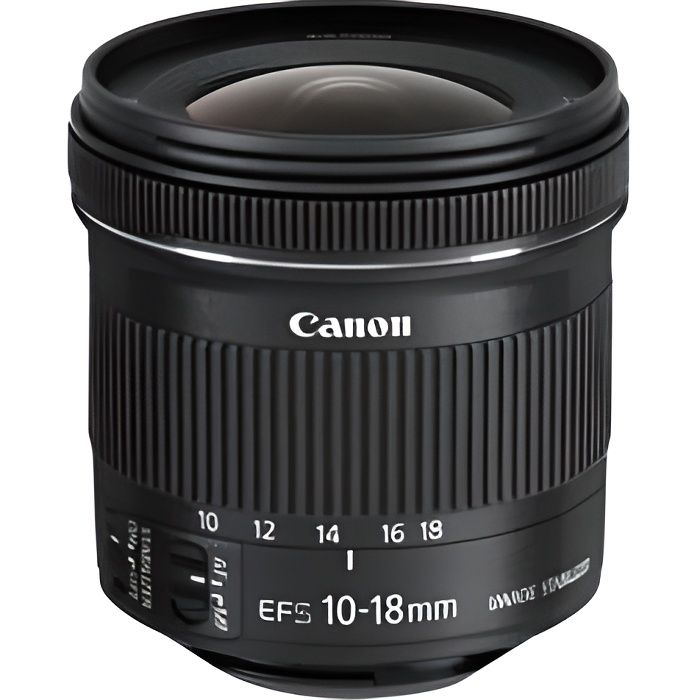 OBJECTIF CANON EF-S 10-18 IS STM Objectif photo pour appare