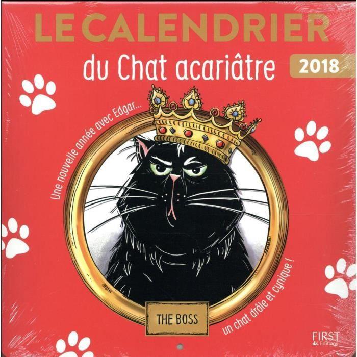 Livre Le Calendrier Du Chat Acariatre Le Retour