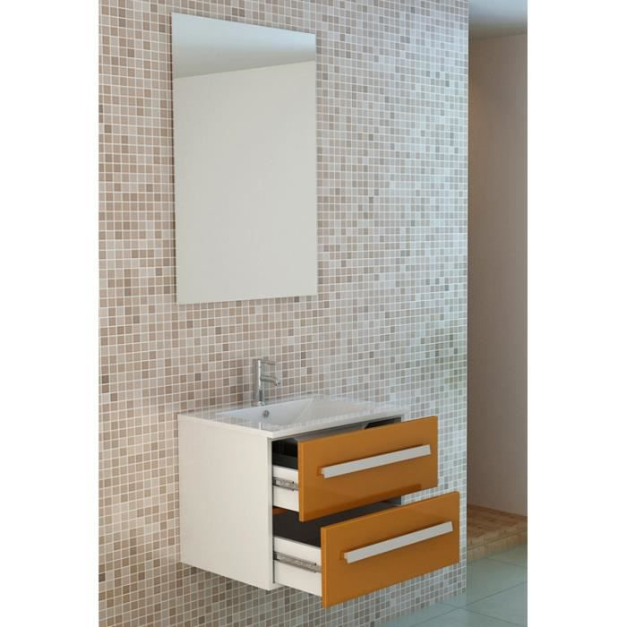 jet line kit de meuble de salle de bain mod le arosa orange achat vente salle de bain. Black Bedroom Furniture Sets. Home Design Ideas