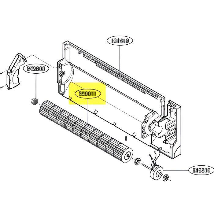 Helice Diametre 383 Mm Pour Pieces Traitement De L Air Petit Electromenager Seb