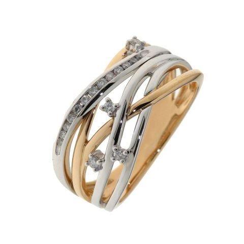 bague diamant plusieurs anneaux