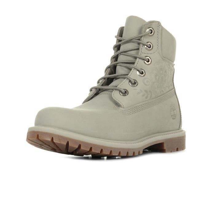 984f8cd667b Boots Timberland 6In Premium Boot Gris Gris - Achat   Vente bottine ...