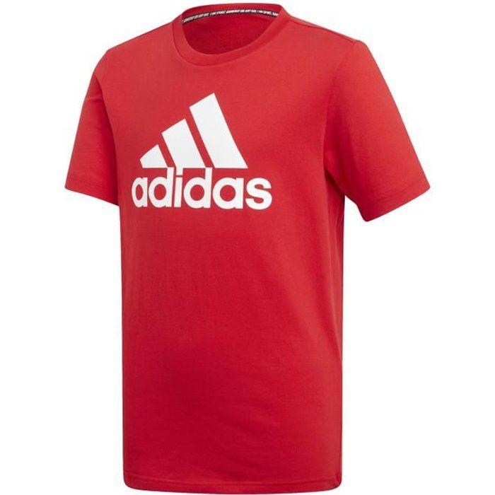 tee shirt adidas rouge