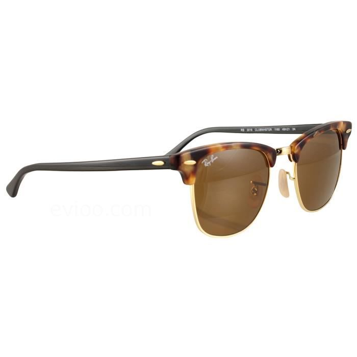 4bb92b46a0843 Ray Ban Clubmaster 3016 Ecaille Taille   49 - Achat   Vente lunettes ...