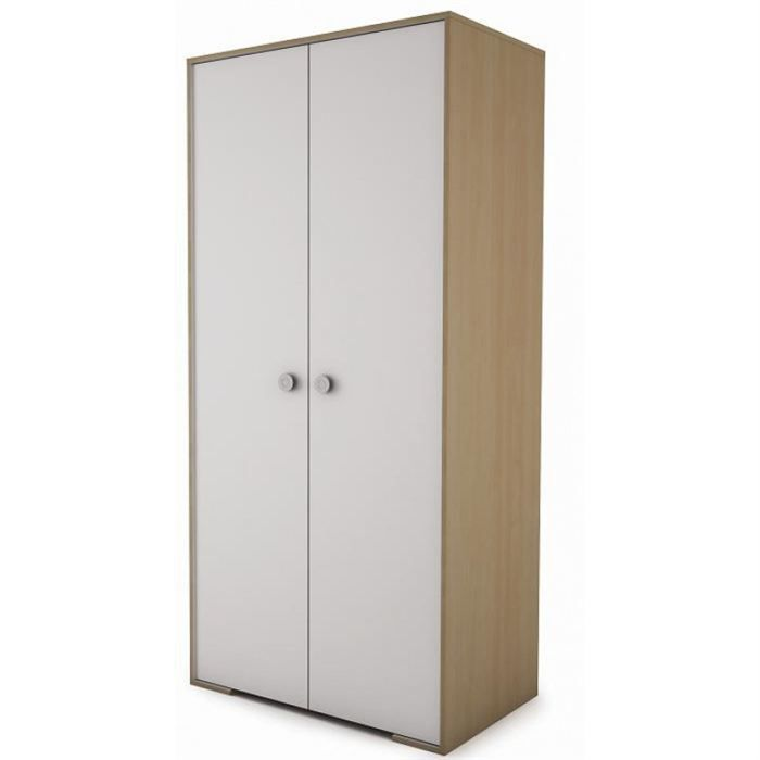 Armoire chambre a coucher armoire blanche miroir armoire for Armoire chambre coucher