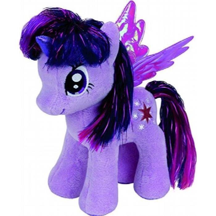 Ty Beanie Buddy My Little Pony Pinkie Pie Rainbow Dash Twilight Sparkle Jouet Doux