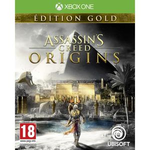 JEU XBOX ONE Assassin's Creed Origins Édition Gold Jeu Xbox One