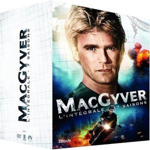 DVD SÉRIE DVD Coffret intégrale MacGyver