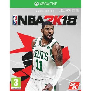 JEU XBOX ONE NBA 2K18 Jeu Xbox One