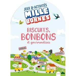 LIVRE JEUX ACTIVITÉS Biscuits, bonbons et gourmandises