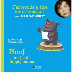 Livre 3-6 ANS Plouf, un gentil hippopotame