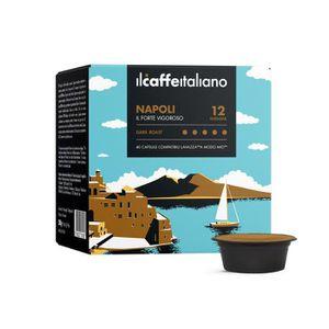 CAFÉ 100 Capsules  de Café Napoli compatibles avec mach